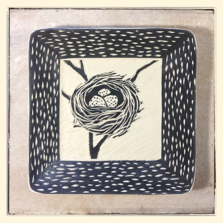 sgraffito nest