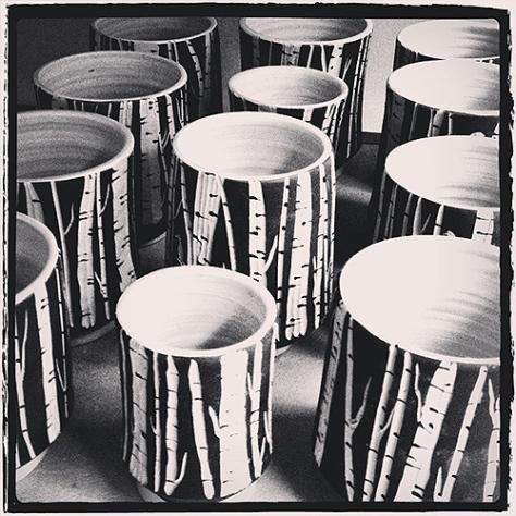 birch cups
